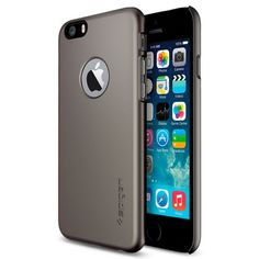 Spigen iPhone 6 Case Thin Fit A Series - Metal | Mobile Madhouse