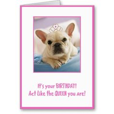 Act Like A Queen Cards Thank You Greeting Greetings Birthday