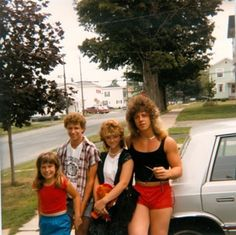 Awkward Family photos from the 80s.