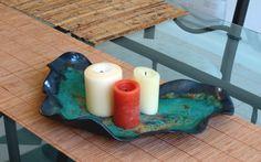 Free Form Ceramic Centerpiece Contemporary by CeramicDesires, $125.00