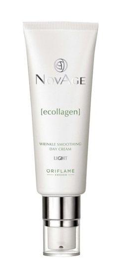 Oriflame NovAge Ecollagen Wrinkle Smoothing Day Cream Light Oriflame Cosmetics, Shampoo, Perfume Bottles, Make Up, Personal Care, Beauty, Cream, Ecuador, Day