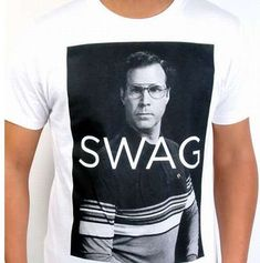 The Will Ferrell 'Swag' T-Shirt from Fancy is Perfect for Class Clowns trendhunter.com