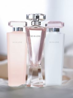 So in love fragrance by Victoria Secret.  This is the fragrance I used on my wedding day. loved it.