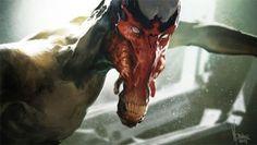 fantasy horror monster illustration graphic art
