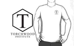 Torchwood Black Classic Logo and Name by Christopher Bunye