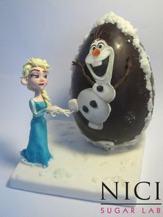 Frozen Easter - cake by Nici Sugar Lab