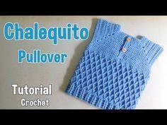 Como tejer un pullover para niño (2/2) - YouTube