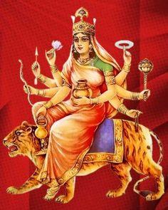 Navratri Day 4 (Maa Kushmanda)