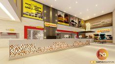 🌞⚡️Bom diiiia... Com esse projeto comercial da loja @raimundoautopecas!😊  ▫️ Projeto de Interiores das novas instalações da loja, localizada na BR-304 em Assú-RN.