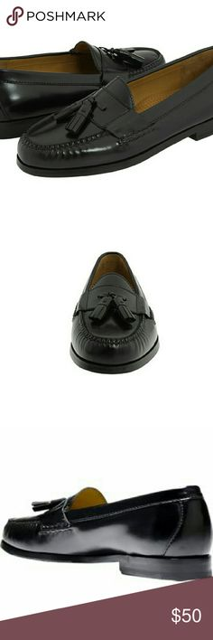 Cole Haan Pinch Grand Tassel Traditional tassel loafer with buckle and hand finished Nubuck or brush off leather uppers. Fully leather lined upper and sock. Genuine Moccasin construction. Constructed on our legendary Pinch last. 100% leather. Imported. Spot clean only. Cole Haan Shoes Loafers & Slip-Ons