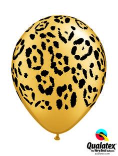 "5 x 11/"" Neon Safari balloons assorted designs//Colours"