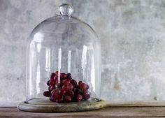 Recycled Glass Bell Dome - Large