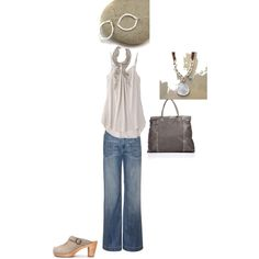 Summer Casual, created by karen-stryker.polyvore.com