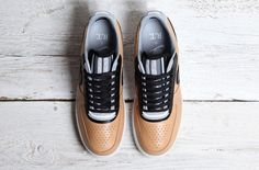 "Riccardo Tisci x Nike Air Force 1""Vachetta Tan"" Collection"
