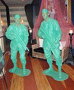 Plastic Army Men homemade costumes