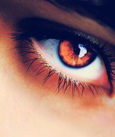 Amber eyes.... very rare. (Bella?)