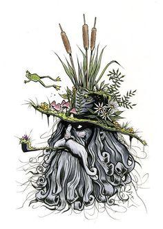 Etsy の Swamp Brim Jim print 5x7 by berkleyillustration