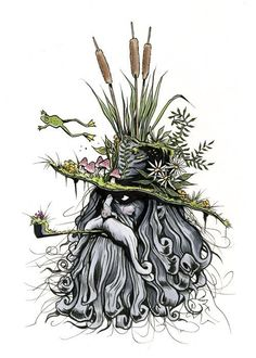 Etsy の Swamp Brim Jim print 5x7 by berkleyillustration