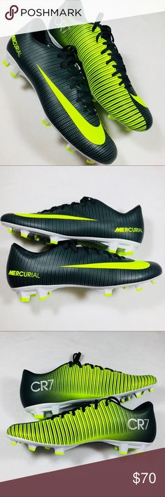 8114678d0415 Nike Mercurial CR 7 Victory VI FG Soccer Cleats Brand New Without Box Nike  Mercurial CR7