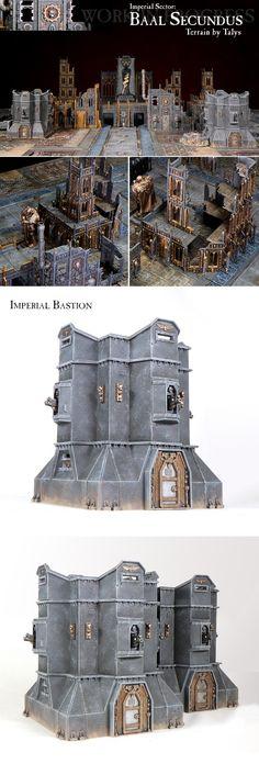 Imperial, Terrain, Imperial Bastion & Baal Secundus WIP