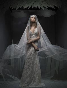Ersa Atelier Fall 2016 Wedding Dresses - World of Bridal 2016 Wedding Dresses, Designer Wedding Dresses, Dress Wedding, Ersa Atelier, Modern Princess, Contemporary Dresses, French Lace, Unique Weddings, Perfect Wedding