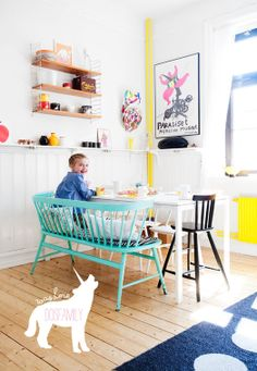 Cush and Nooks: Surrounded by Colour