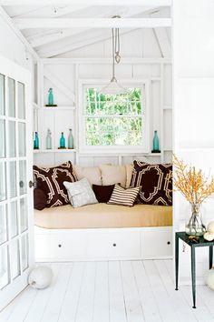 Window nook decoration - Evinizde sahip olmak isteyeceğiniz 10 köşe