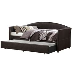 Wade Logan Luiz Daybed with Trundle - http://delanico.com/daybeds/wade-logan-luiz-daybed-with-trundle-629766281/