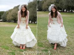 Wedding Dress + Cardigan= Simple Elegance « The Brides Hairstylist