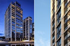 Bold entry for the #Residential Award: 3 Merchant Square by Robin Partington & Partners | #London #UnitedKingdom © Will Pryce