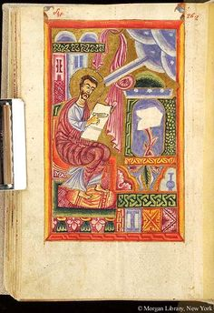 Gospel book, MS M.749 fol. 151v - Images from Medieval and Renaissance Manuscripts - The Morgan Library & Museum