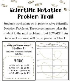 Scientific Notation Coloring Worksheet | Scientific notation ...