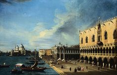 Canaletto - painting of the Venice