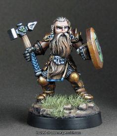 Bjorn, Dwarven Warrior by Werner Klocke