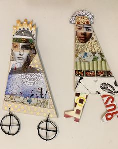 Mixed Media Sculpture, Paper Dolls, Art, Art Background, Kunst, Performing Arts, Paper Puppets, Art Education Resources, Artworks