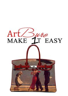 "Art Buro ""Make 1t Easy"" ! Personalize your bag! #artburo #make_1t_easy_ #personalizeyourbag #hermes #fashionista #hermeslover #hermesaddict"