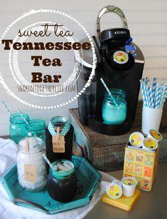 Celebrate Summer with a sweet tea Tennessee tea bar!