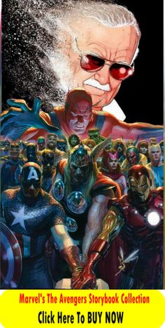 Marvel's The Avengers Storybook Collection Marvel Avengers, Marvel Comics, Marvel Funny, Marvel Heroes, Marvel Comic Character, Marvel Characters, Stan Lee, Marvel Universe, Univers Marvel
