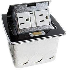Lew - PUFP-CT-BK, Assembled - Counter Boxes, Recessed, Enclosures - Platt Electric Supply