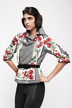 Gelfer Design A/W 2008 Miss And Ms, Bell Sleeves, Bell Sleeve Top, Handmade Art, Pattern, Vintage, Tops, Design, Women
