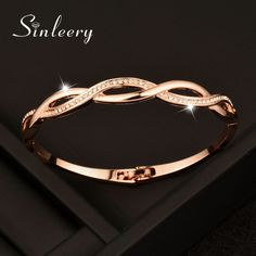 91c983b369d 2017 Charm Crystal Cross Bracelets Hollow Bangle For Women Valentine s Day  Gifts