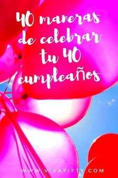 Celebrating your fortieth should be fun for you, even if it isn't a huge party! Here are some ideas of how you can spend this important milestone birthday. 40th Birthday Celebration Ideas, 40th Birthday For Women, Forty Birthday, Birthday Woman, Birthday Parties, Birthday Ideas, Ideas Para Fiestas, Milestone Birthdays, Amazing Adventures