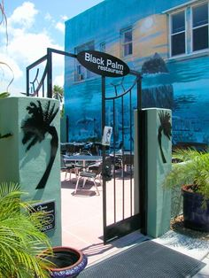 We love the Black Palm restaurant in Pass-a-Grille, FL - a favorite when we lived in Tampa.