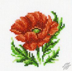 Poppy - Cross Stitch Kits by RTO - H167