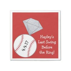 #party - #Last Swing Before Ring Bachelorette Party Napkins