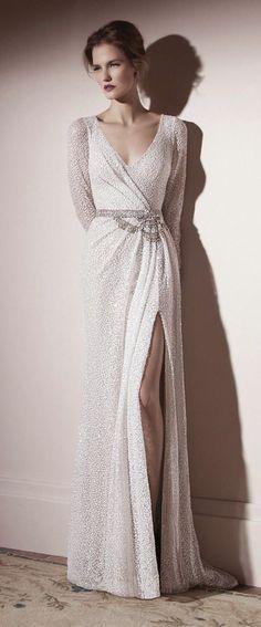 Como una diva del celuloide. De Lihi Hod 2013 #vestidosqueamo