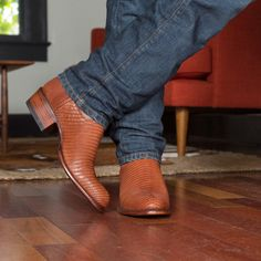 The Nolan is a handmade cowboy boot, crafted from supple lizard leather, featuring a calfskin shaft, leather sole & heel, and single-piece vamps and counters. Wedding Cowboy Boots, Dresses With Cowboy Boots, Cowboy Outfits, Vest Outfits, Tecovas Boots, Jeans And Boots, Shoe Boots, Dress Boots, Tall Boots