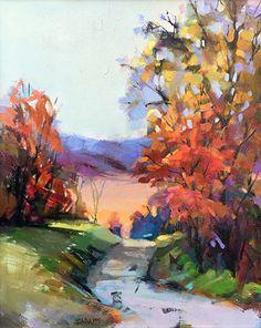 November Color by Trisha Adams Oil ~ 20 x 16