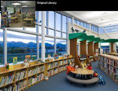 Elementary School Library Design Ideas