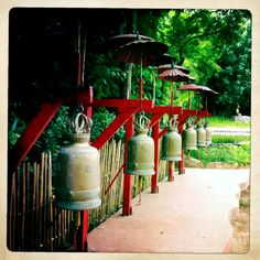 Bells in temple doi Sutep in north of Thailand.